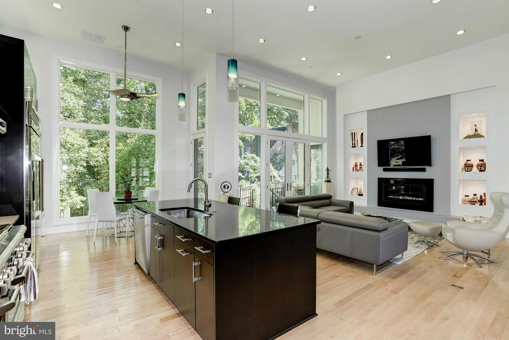 Family Room - 4826 DE RUSSEY PKWY, CHEVY CHASE