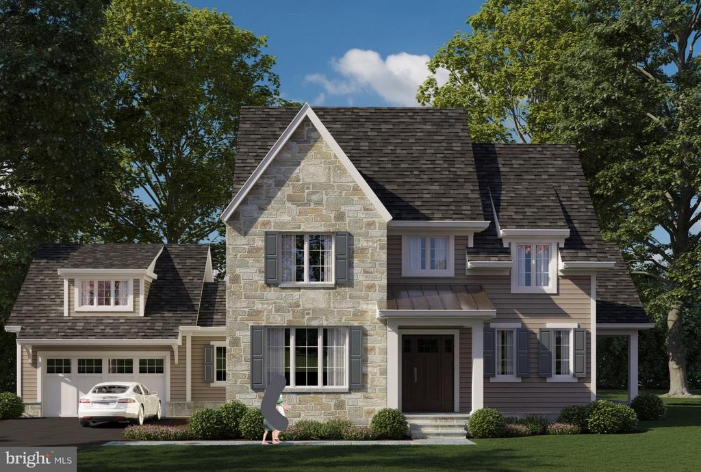 Exterior (Front) - 4826 DE RUSSEY PKWY, CHEVY CHASE