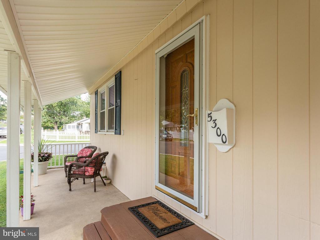 Front Door with Storm - 5300 KENESAW ST, COLLEGE PARK
