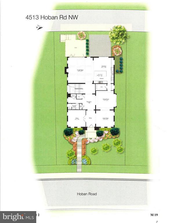 Site Plan - 4513 HOBAN RD NW, WASHINGTON