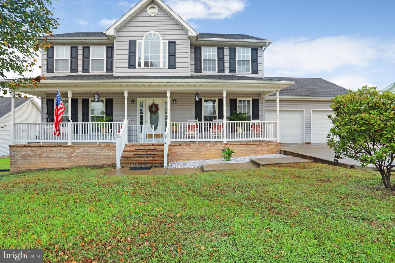 Photo of home for sale at 66 Stuart Court, Strasburg VA