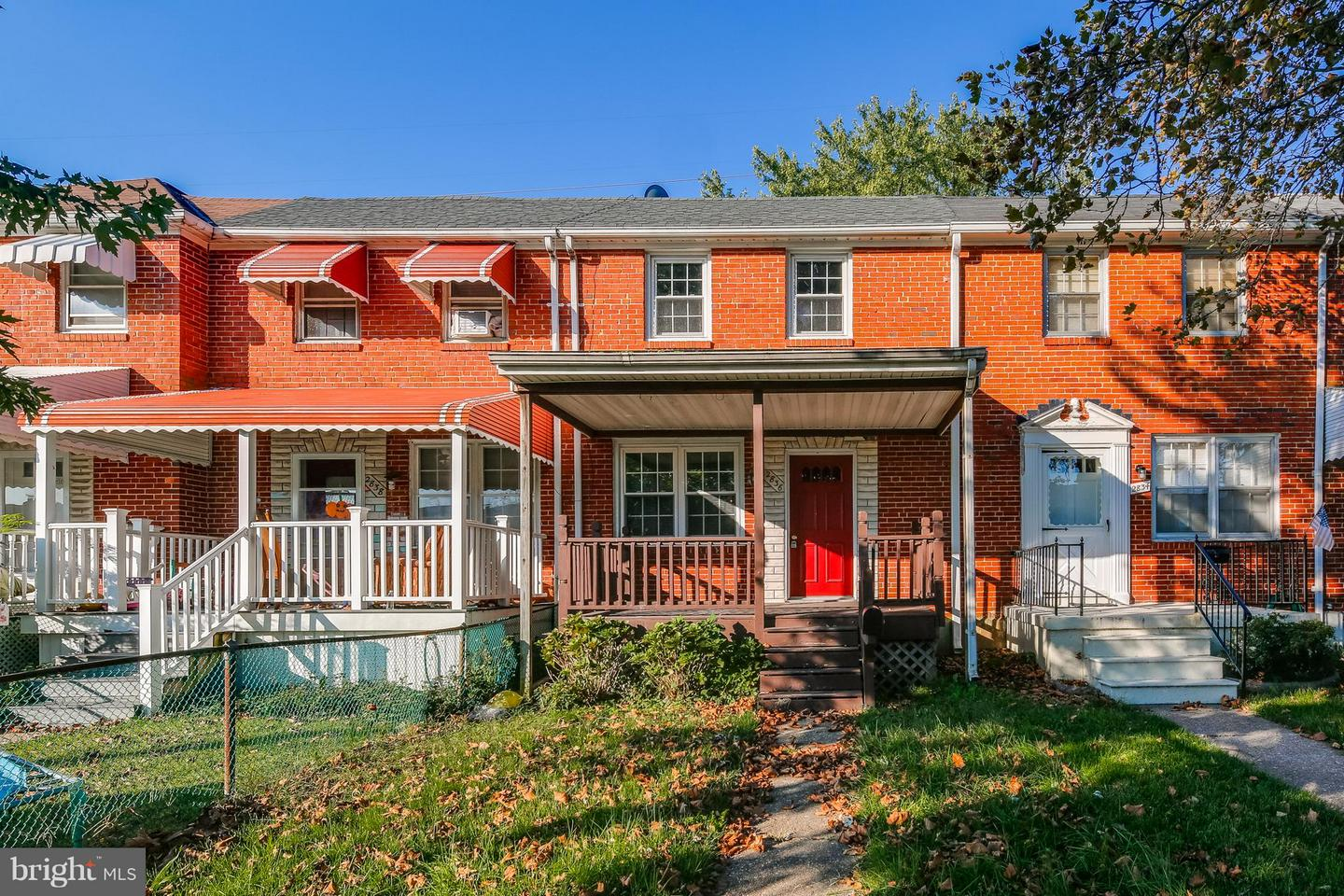 Photo of home for sale at 2836 Plainfield Road, Baltimore MD