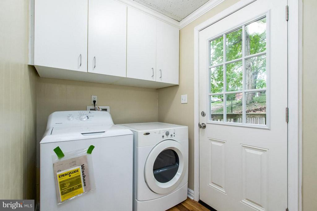 Laundry Room - 6803 BAMBI CT, FREDERICKSBURG
