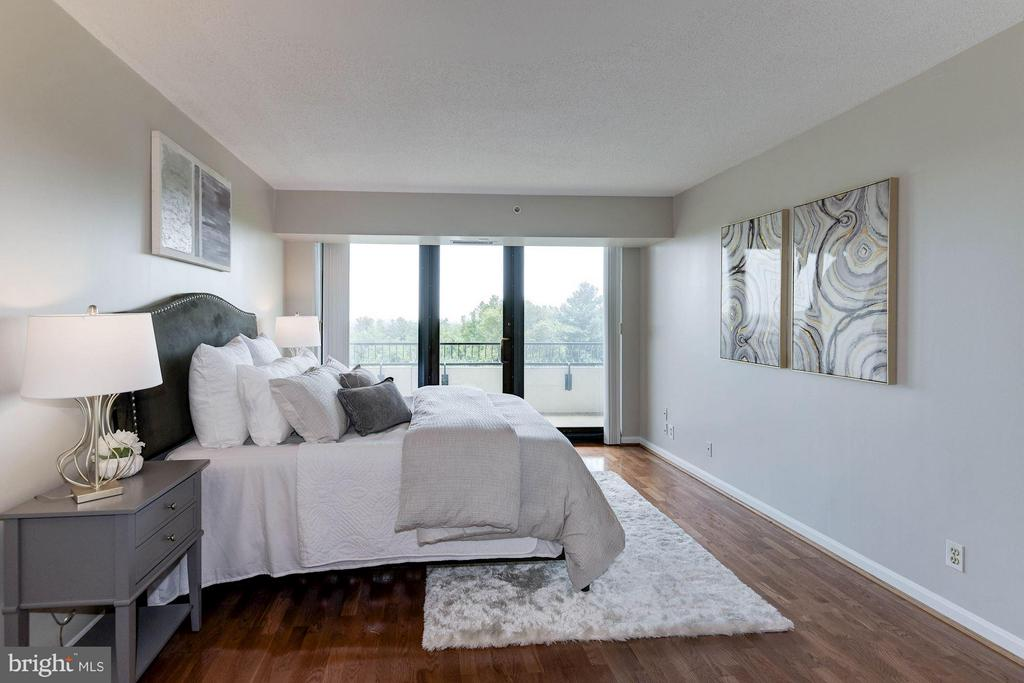 Gorgeous Sunrises and Sunsets - 1200 CRYSTAL DR #513, ARLINGTON
