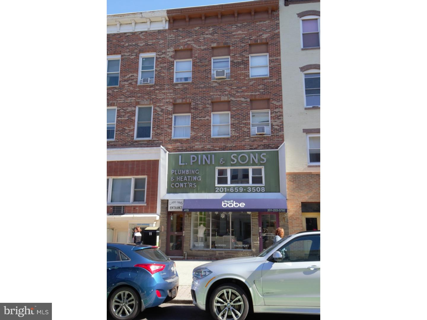 Retail for Sale at 415 WASHINGTON Street Hoboken, New Jersey 07030 United StatesMunicipality: Hoboken