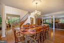 Dining room is very large - room for all! - 170 BALL RD, SAINT LEONARD