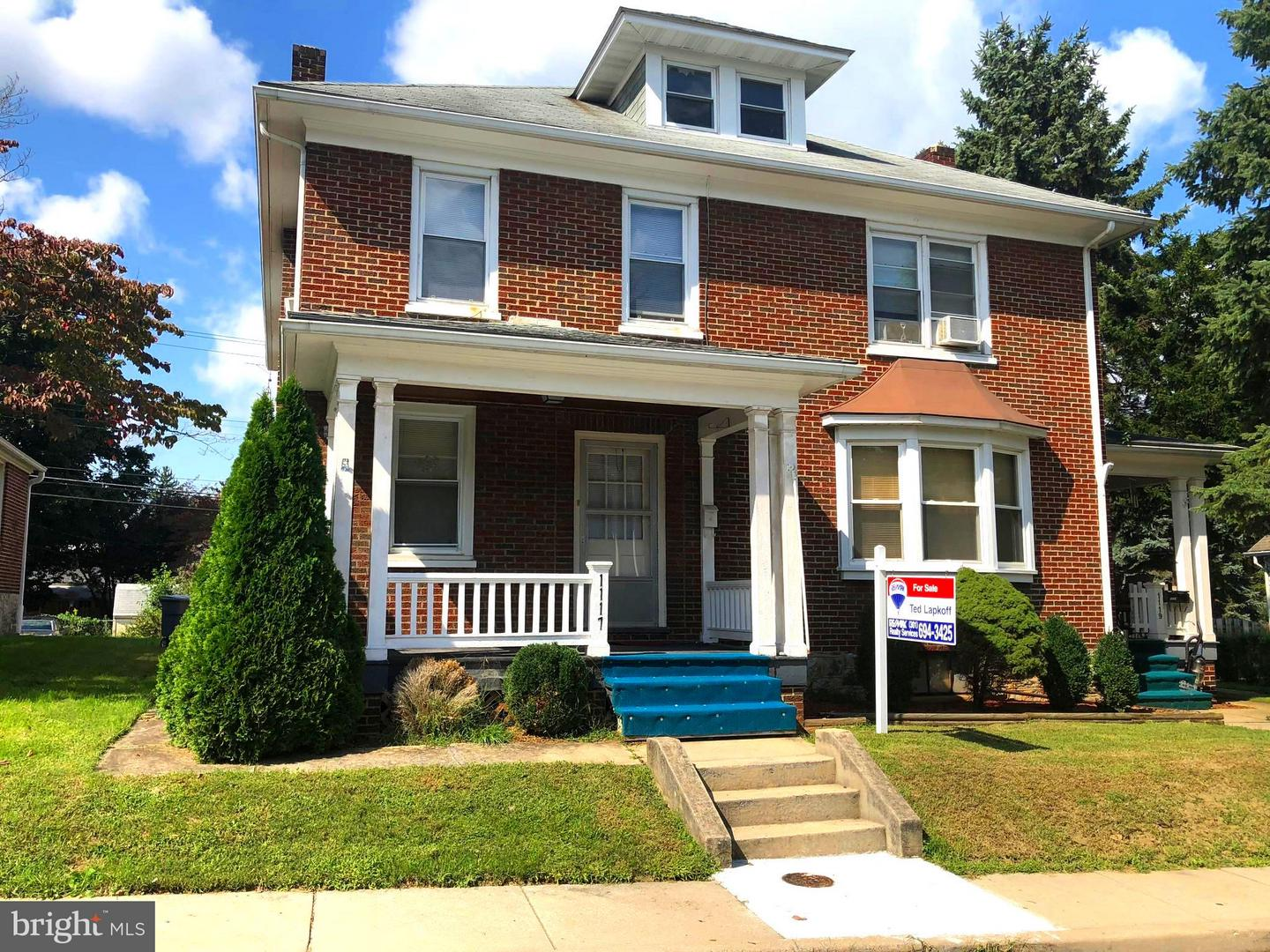 Other Residential for Sale at 1117 Fry Ave Hagerstown, Maryland 21742 United States