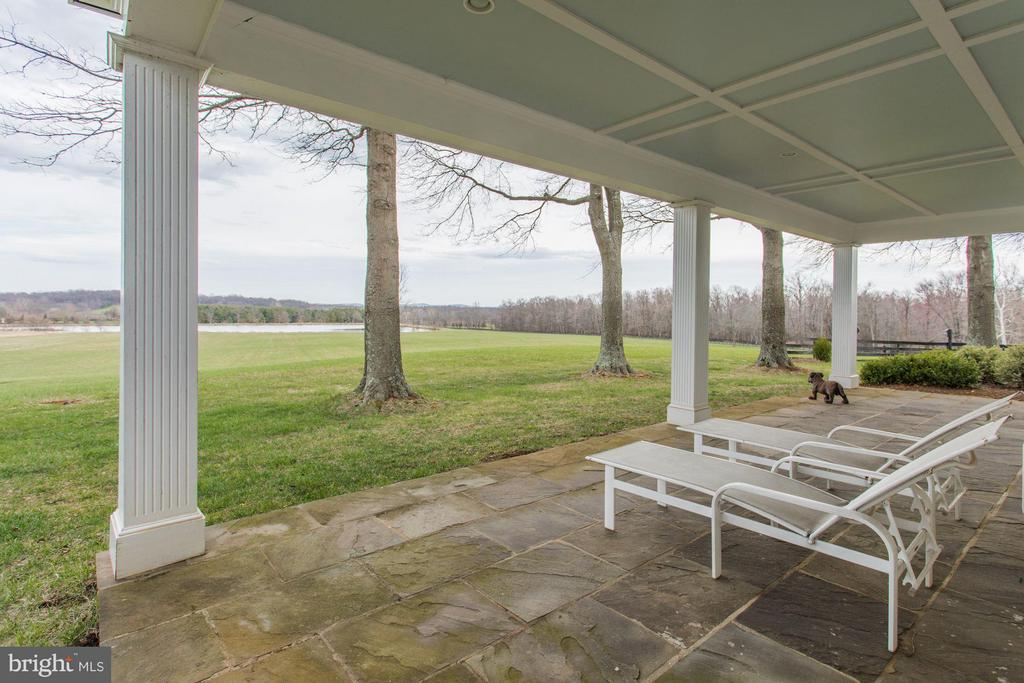 Patio with View to Lake - 21167 TRAPPE RD, UPPERVILLE