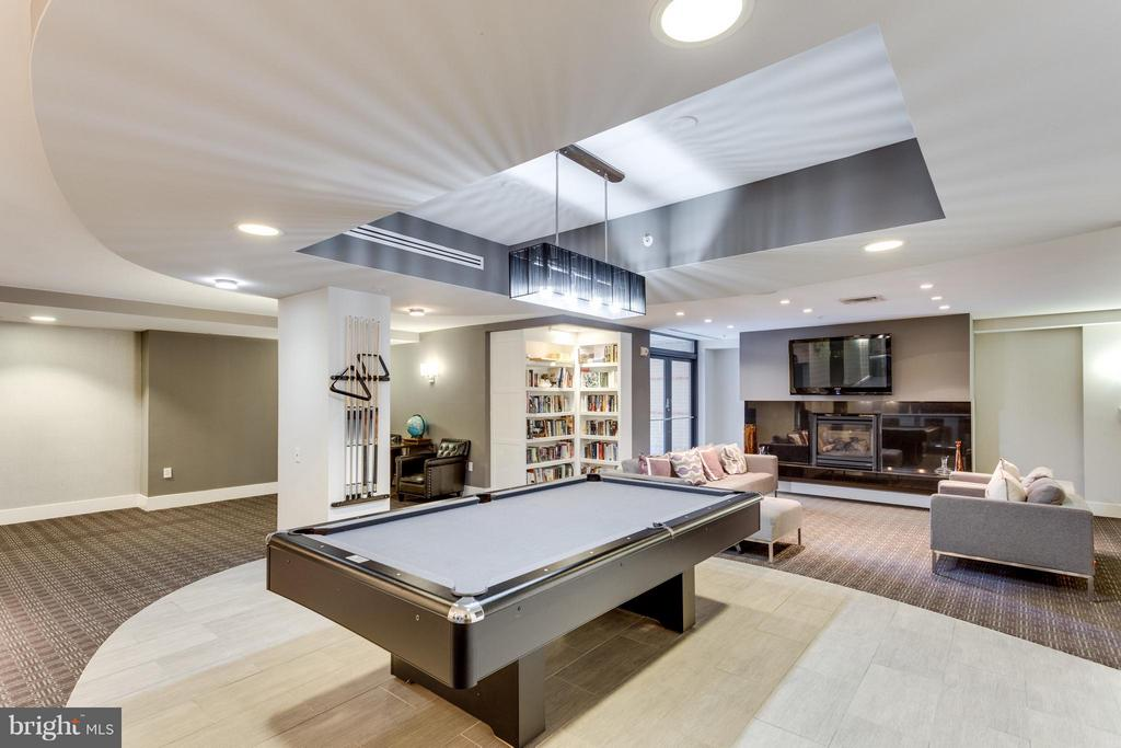 Billiards Room at The Henry - 525 FAYETTE ST #507, ALEXANDRIA