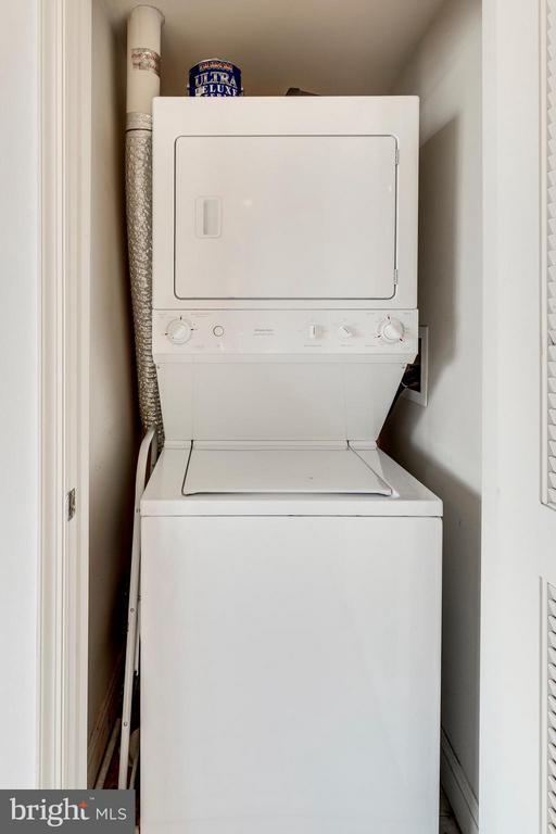 In-Unit Washer/Dryer - 525 FAYETTE ST #507, ALEXANDRIA