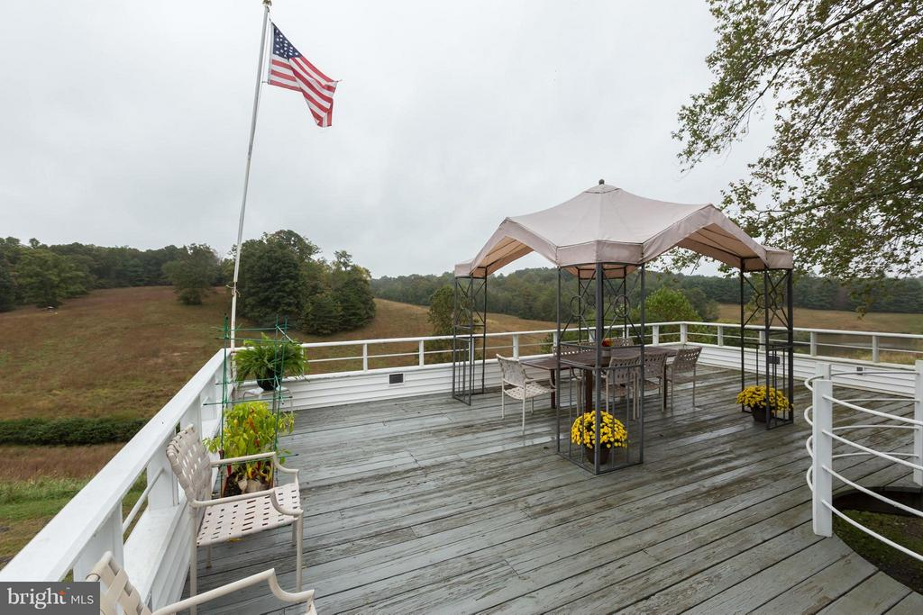 Large Deck off family room for entertaining - 399 CASTLETON FORD RD, CASTLETON