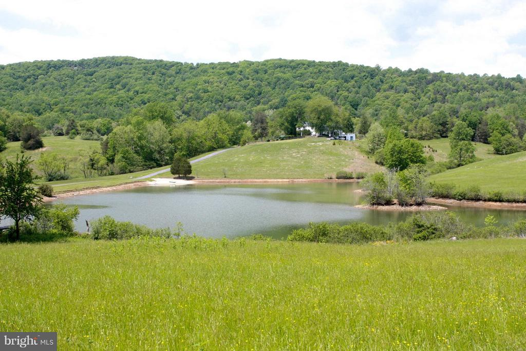 230 acres, historic buildings set in rolling hills - 399 CASTLETON FORD RD, CASTLETON