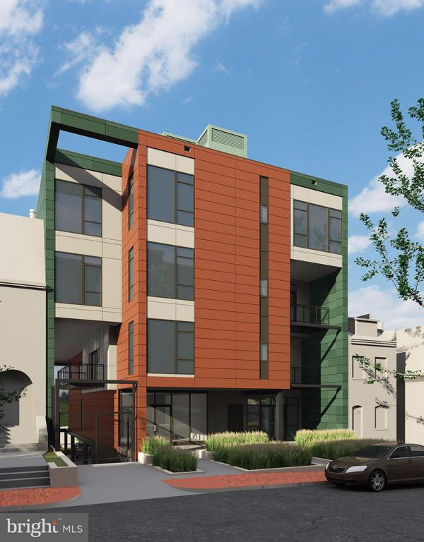 Exterior (Front) - 1468 BELMONT ST NW #3 EAST, WASHINGTON