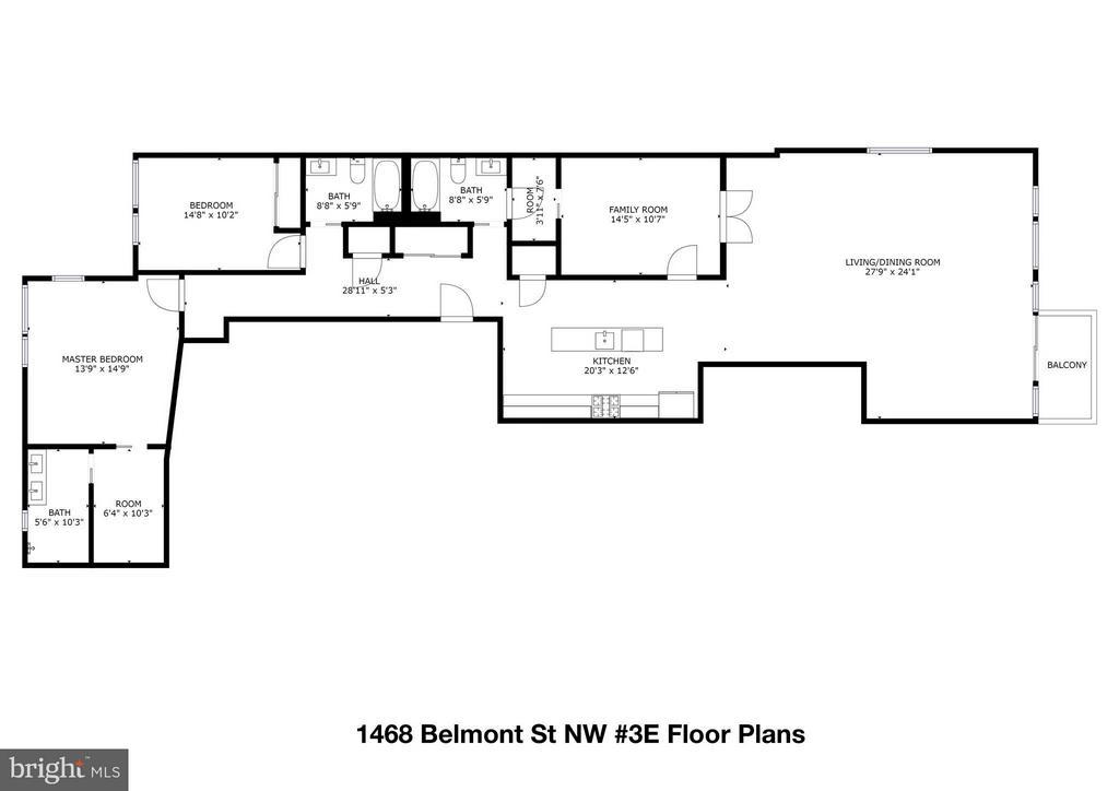 Interior (General) - 1468 BELMONT ST NW #3 EAST, WASHINGTON