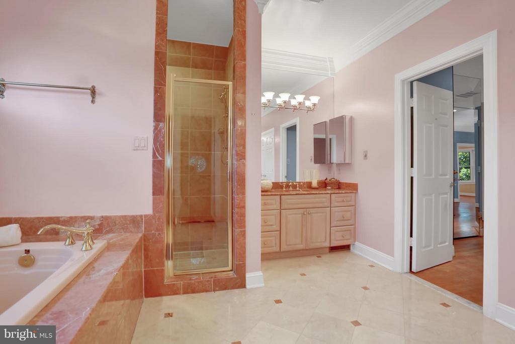 Bath #1 (Master) - 11309 STONEHOUSE PL, POTOMAC FALLS