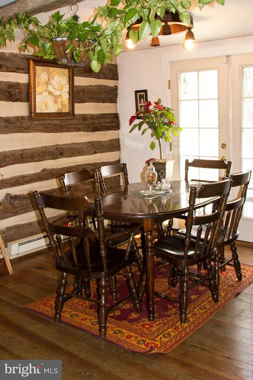 Dining area of Cabin - 437 YANCEY RD, WOODVILLE