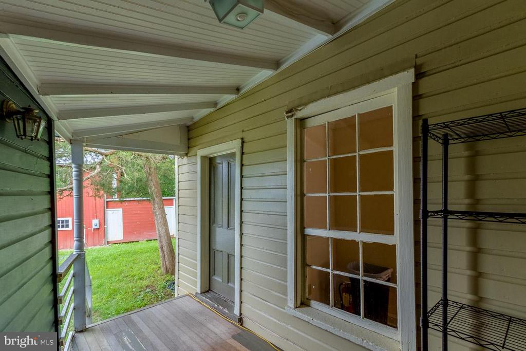 Exterior (Rear) shared porch - 15481 SECOND ST, WATERFORD