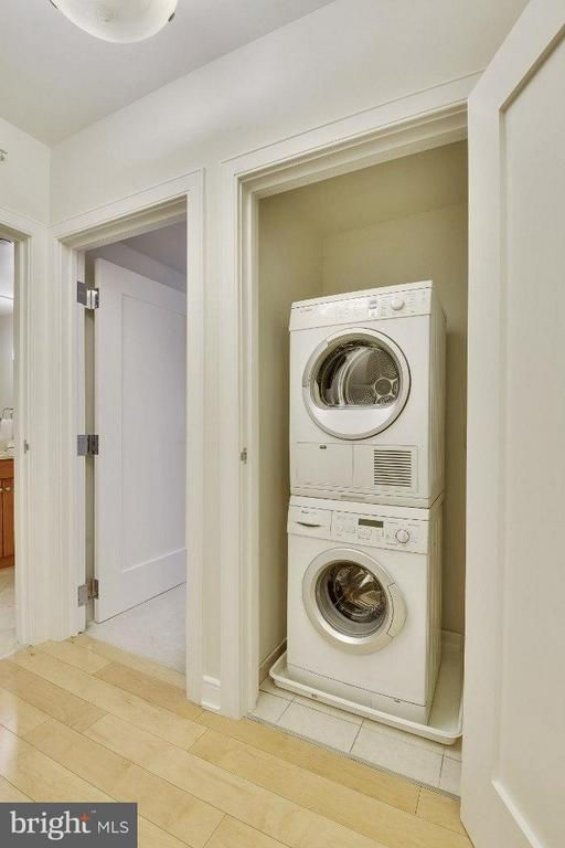 Miele Washer and Dryer - 1111 19TH ST N #1603, ARLINGTON