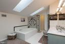 Huge Garden Master Bath - 14110 GALLOP TER, GERMANTOWN