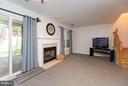 Basement/Ground Floor Rec Room w/ Fireplace #2 - 14110 GALLOP TER, GERMANTOWN