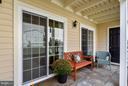 Enormous Flagstone Patio has it made in the shade! - 10208B ASHBROOKE CT #18, OAKTON