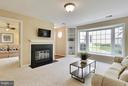 Double Door from LR opens into the 2nd Bedrm - 10208B ASHBROOKE CT #18, OAKTON