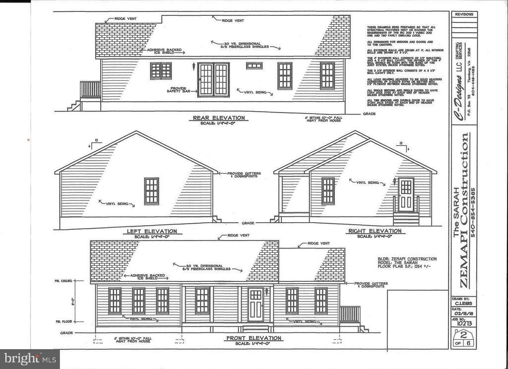 Front elevation - 26097 INDIAN TRACE TRL, UNIONVILLE