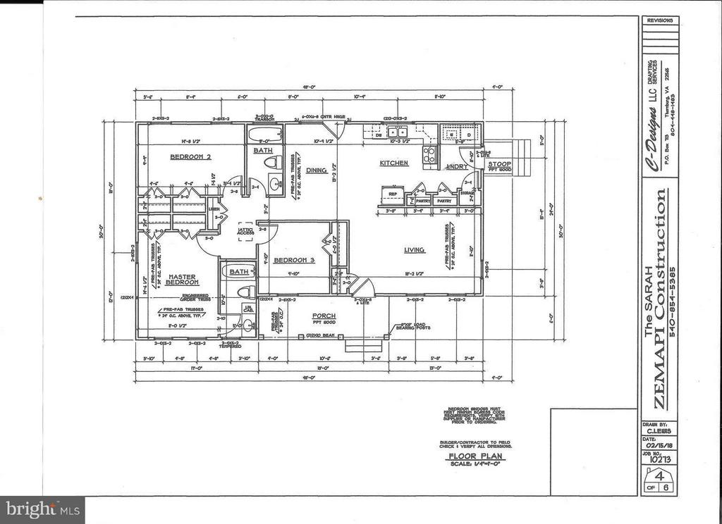Floor Plan - 26097 INDIAN TRACE TRL, UNIONVILLE