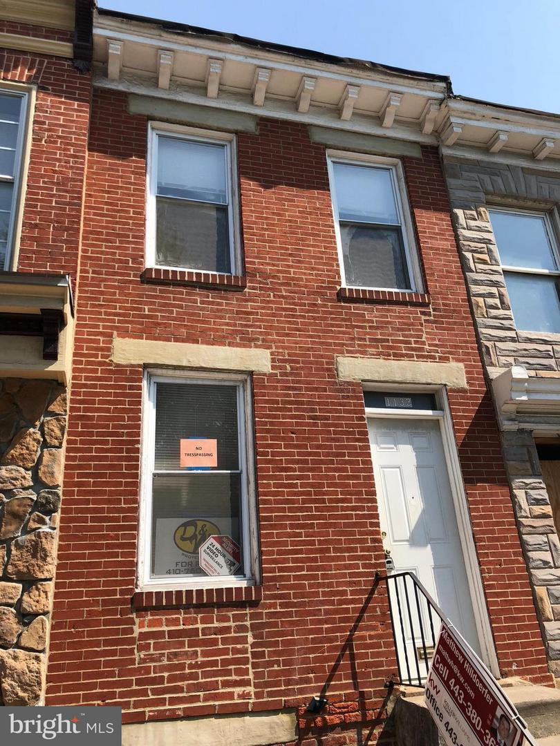 Single Family for Sale at 1133 Washington Blvd Baltimore, Maryland 21230 United States