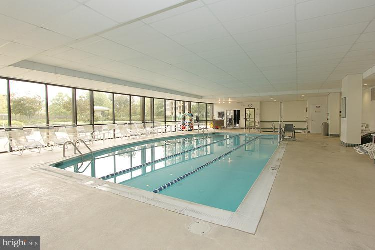 indoor Pool - 5225 POOKS HILL RD #1615S, BETHESDA