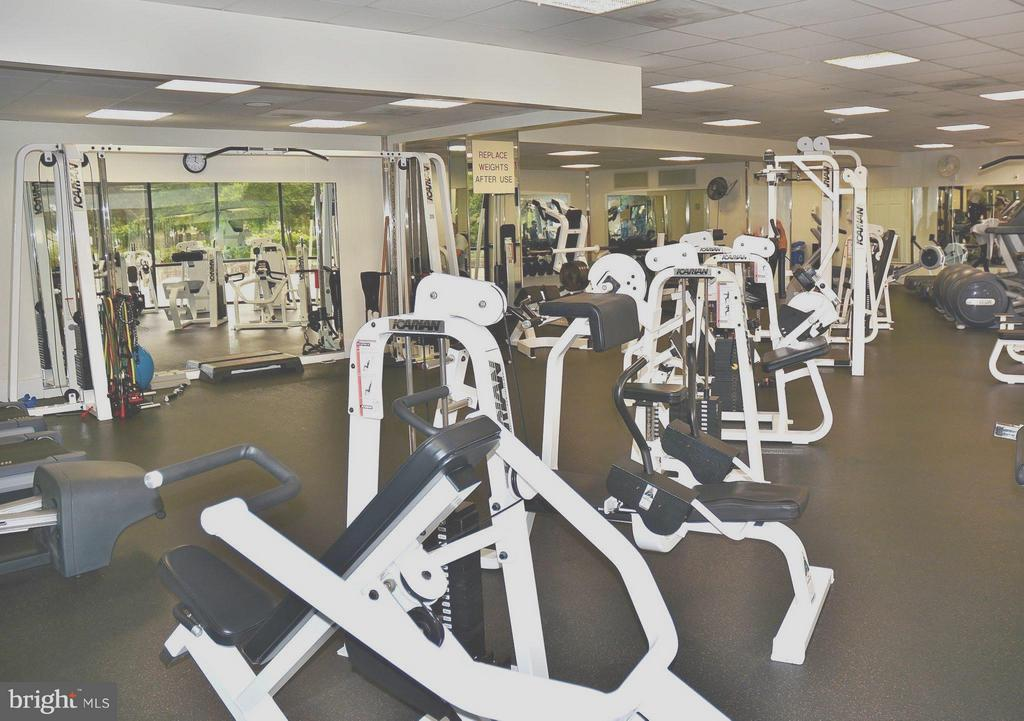 Gym - 5225 POOKS HILL RD #1615S, BETHESDA