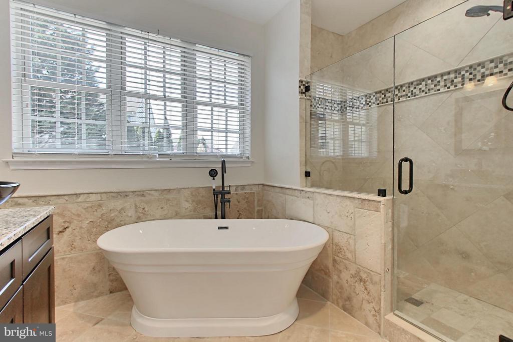 Frameless Shower View - 9381 WORTHINGTON DR, BRISTOW