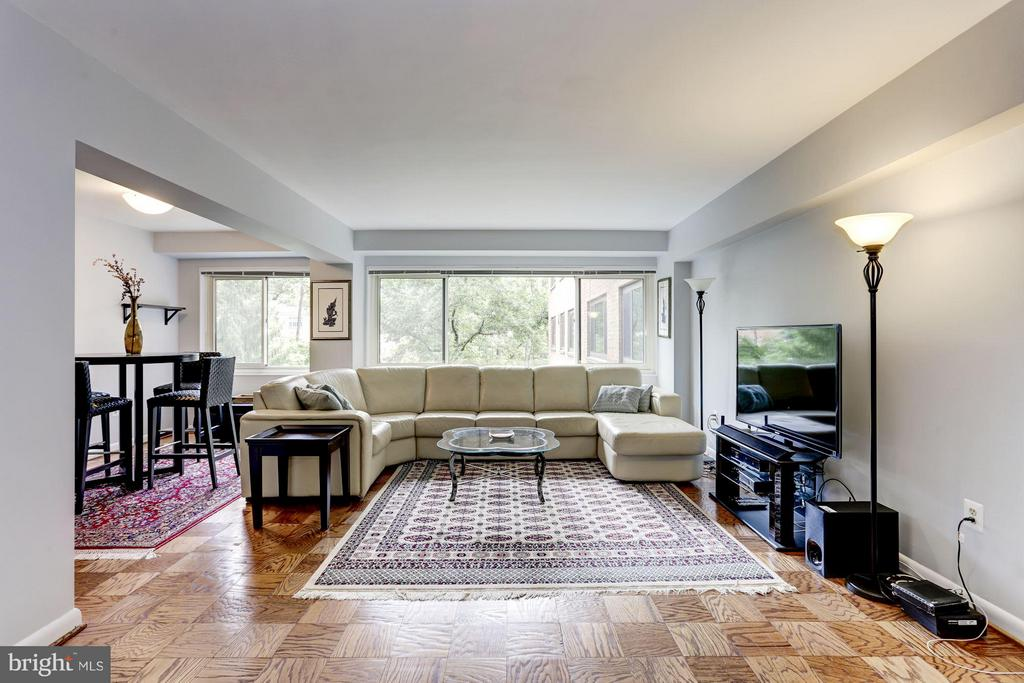Living Room - 4201 CATHEDRAL AVE NW #603E, WASHINGTON
