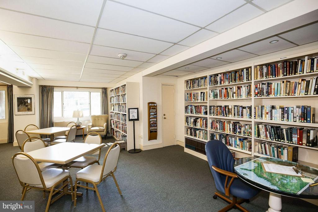 Library - 4201 CATHEDRAL AVE NW #603E, WASHINGTON