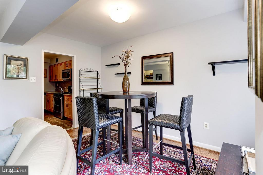 Dining Room - 4201 CATHEDRAL AVE NW #603E, WASHINGTON