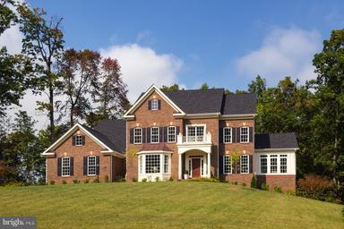 Stately Front Entrance - 12360 HENDERSON RD, CLIFTON