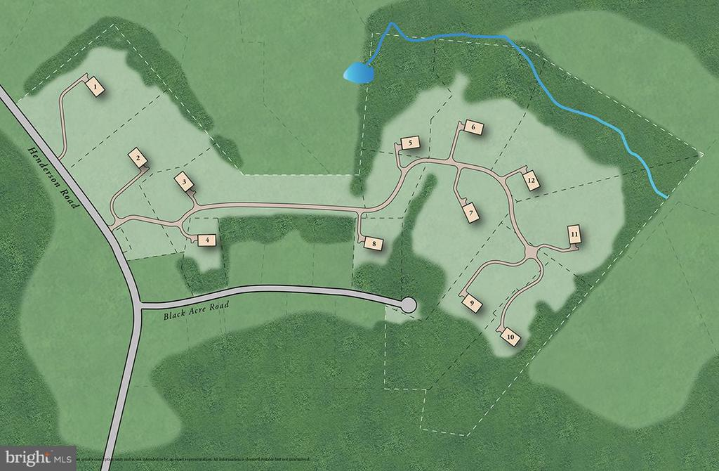 Site Plan - 12360 HENDERSON RD, CLIFTON
