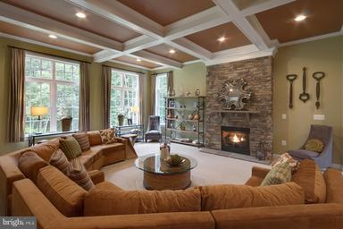 Warm and inviting Family Room - 12360 HENDERSON RD, CLIFTON