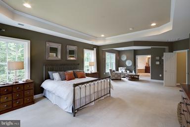 Spacious Master Bedroom - 12360 HENDERSON RD, CLIFTON