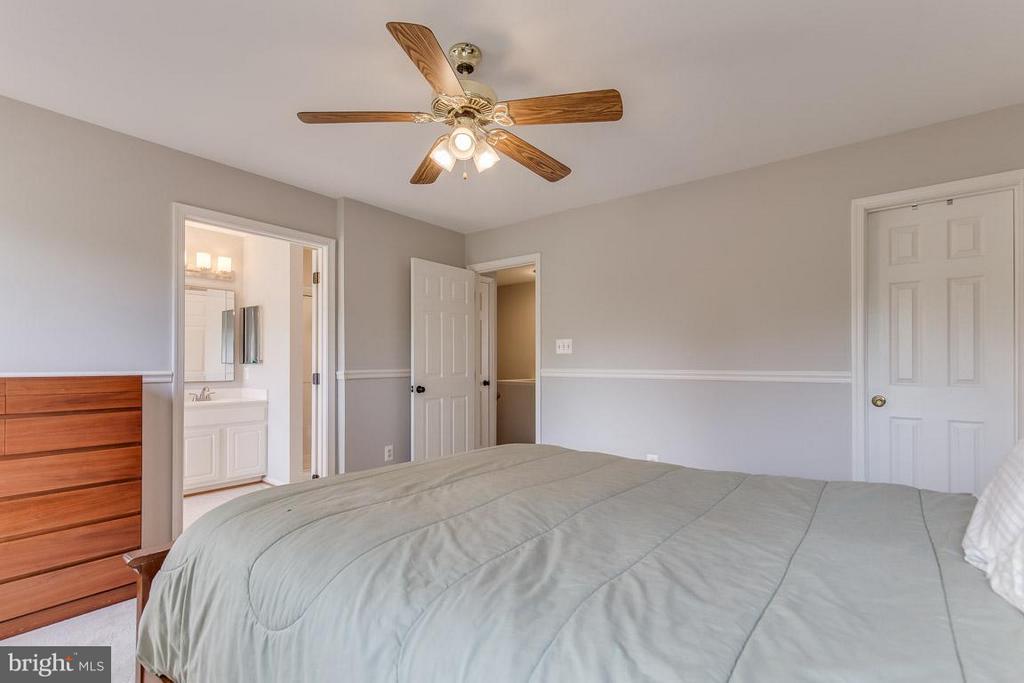 Walk-in master closet - 14817 EDMAN RD, CENTREVILLE