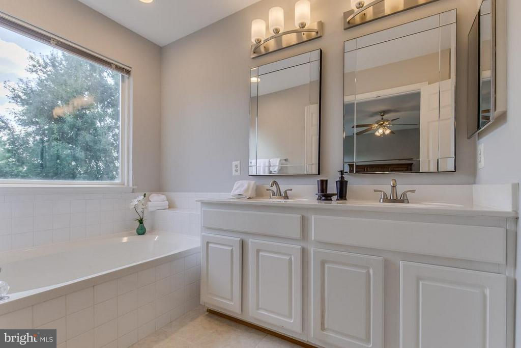 Updated fixtures, separate tub and shower - 14817 EDMAN RD, CENTREVILLE
