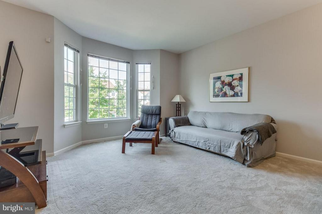 Light pours in through the bay window - 14817 EDMAN RD, CENTREVILLE