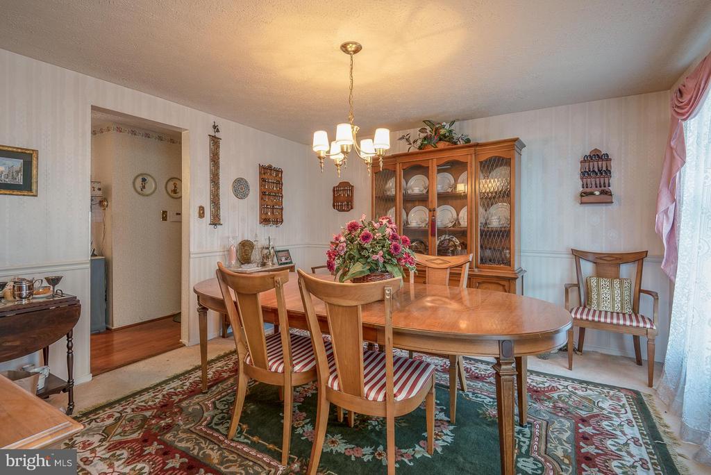 Dining Room - 1015 ISABELLA DR, STAFFORD