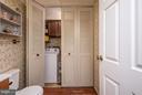 1/2 bath and Laundry Room with a Laundry Chute.!! - 1015 ISABELLA DR, STAFFORD