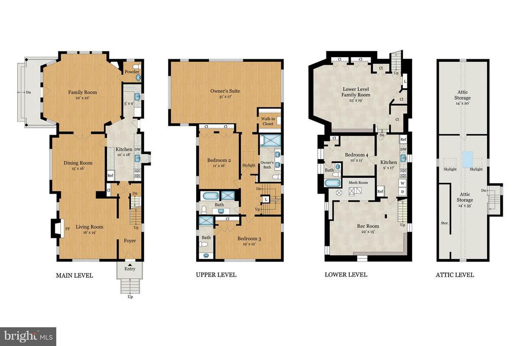 Floorplan - 3430 34TH PL NW, WASHINGTON