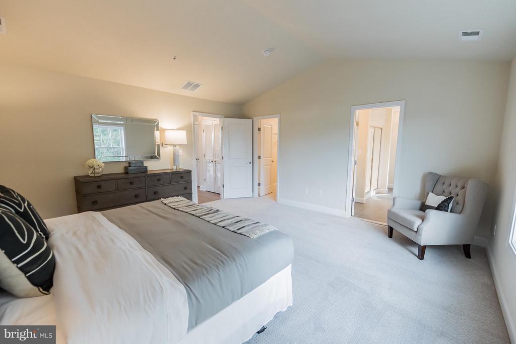 En suite bath and walk in closet - 2020 CONLEY CT, SILVER SPRING