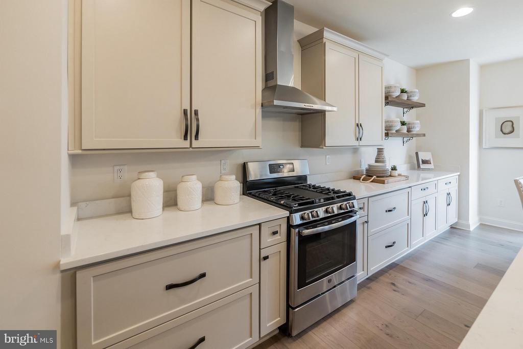 Modern kitchen with soft close cabinets - 2020 CONLEY CT, SILVER SPRING