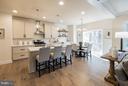 Spacious open kitchen - 2020 CONLEY CT, SILVER SPRING