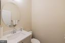 Powder room - 2020 CONLEY CT, SILVER SPRING