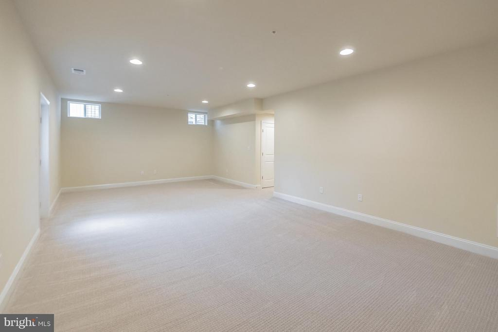 Large finished basement - 2020 CONLEY CT, SILVER SPRING